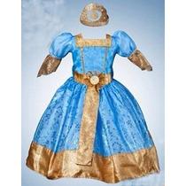 Disfraz Vestido Merida,la Princesa Valiente Talla 1 Y 2