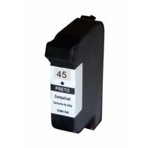 Cartucho Compativel Hp 51645 45 Novo Importado - 42ml