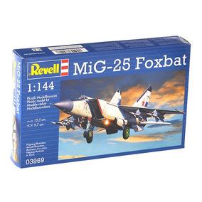 Miniatura Para Montar Revell Mig 25 Foxbat 1:144 - 03969