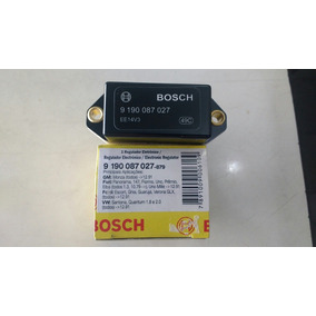 Regulador Voltagem Bosch 9 190 087 027 Vw Gol Fiat Uno Ford