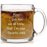 Mamá, Estoy A Su Hijo Favorito De Café Divertida De La Taza