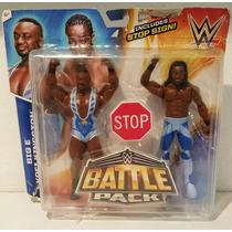 Wwe Mattel Battle Pack Big E & Kofi Kingston The New Day