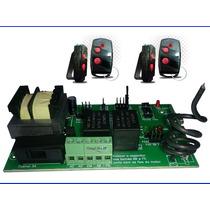 Central Placa Portão Eletrônico Ppa Rossi Garen +2 Controles