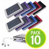 Pack 10 Cargador Portatil Solar 20.000mah 53292 / Fernapet