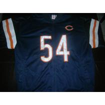 Chamarra Chicago Bears # 54 Urlacher Original Nfl Players