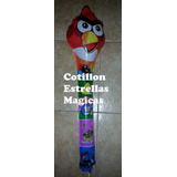 Angry Birds Globos Sonajero 60 Cm Cotillon Souvenirs