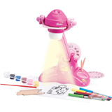 Brinquedo Projetor Mundo Barbie Desenhar Colorir 100 Slides