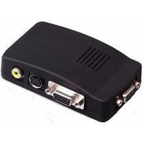 Conversor Video A Vga, Rca-bnc Salida Vga Monitor Cable Svga
