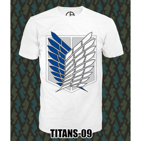 Playeras Y Blusas Attack On Titan - Shingeki No Kyojin 3x2¡