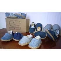 Zapatos Bebes Cocuizas Babuchas Canvas Blue Jeans Originales