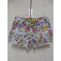 Shorts Jeans - Jeans - Short Feminino Florido