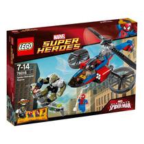 Lego Spiderman Super Heroes 76016 Helicoptero Marvel Orig.