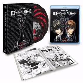 Blu-ray Death Note Serie Completa Omega Edit -sob Encomenda