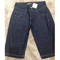 Short Feminino Jeans Lado Avesso 38