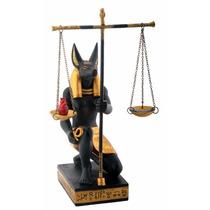 Egipto Anubis Balanza De La Justicia Decoracion Estatua