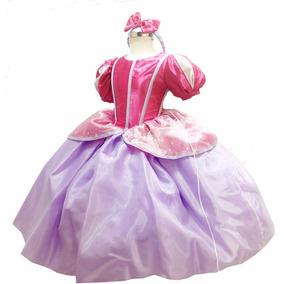 Vestido Princesa Ariel Sirenita Envio Gratis Zapatos Rosas