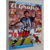 Revista El Grafico - Racing River Gol De Bedoya 2001