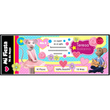Invitaciones Infantiles Digitalizada Angelina Bailarina
