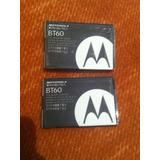 Par De Baterias Motorola Bt60 Seminuevas
