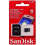 Cartao Memoria Micro Sd Sandisk 16g Adaptador Frete Gratis