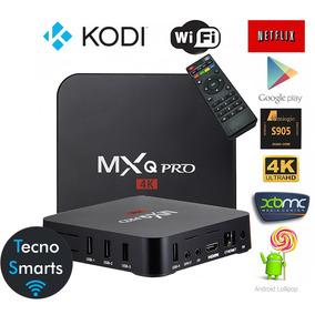 Tv Box Mxq Pro 4k 3d Hdmi/rca Converti Tu Tv En Smart! Gtia
