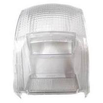 Lente Lanterna Traseira Biz 100 Transparente Branca Cristal