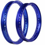 Par Aro Aluminium Nxr 125 150 160 Bros Ks Es Esd Mix Azul