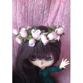 Coroa Com Rosas Acessório Para Boneca Blythe