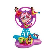 Boneca Polly Pocket - Parque De Diversões - Roda Gigante Cf