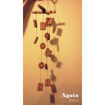 Agata Deco - Llamador De Angeles //movil Artesanal Ceramica