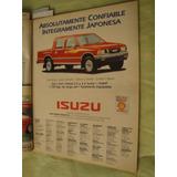 Publicidad Isuzu Doble Cabina Año 1996