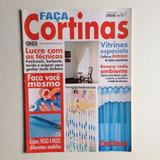 Revista Faça Cortinas Patchwork Barbate Tecido Quarto N°6