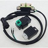 Cdi Unidad De La Bobina 4 Pin Regulador Rectificador 50/90