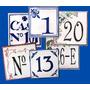 Azulejos Personalizados, Números De Puerta Casas O Edificios