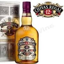 Whisky Chivas Regal 1litro 12 Años Caja Carton 100% Origin