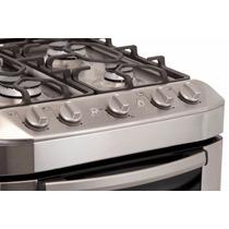 Cocina Cmj656 Mabe Metal Con Válvula De Seguridad
