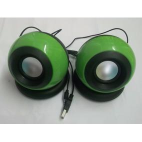 Cornetas Altavoces Multimedia Gio Usb Verde C550 Equiprog