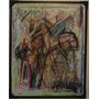Cuadro Obra Plástica De Enrico Armas 55 X 70cm Enmarcado