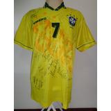 Brasil # 7 - De Jogo - Toda Autografada - Temporada 1995