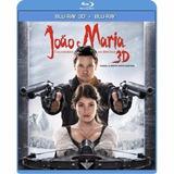 Blu-ray - João E Maria - Caçadores De Bruxas 3d + 2d