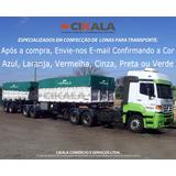 Lona Caminhão Em Pvc Tipo Lonil Vinilona Locomotiva 12x5,5 M