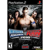 Wwe Smackdown Vs Raw 2010 Ps2 Patch - Frete Só 6,00