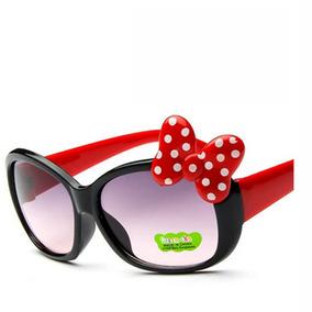 Oculos De Sol Menina Infantil Laço Minie Proteção Uv400