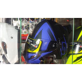 Casco Shaft Abatible Doble Visor Certificados Tallas M L Xl