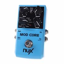 Pedal Nux Mod Core 8 Para Guitarra Efeitos De Modulação