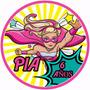 Barbie Super Princes Power. Cumples Stikers Bolsas Piñata