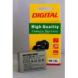 Bateria P/ Canon Nb-10l Sx40 Sx50 G15 G16 Sx60 G15 Sx50