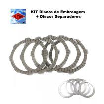 Kit Disco De Embreagem E Separador Yamaha Dt 180 Marca Flynn
