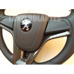 Volante Esportivo + Cubo Peugeot 106 206 306 Buzina Na Seta