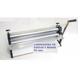 Sobadora-laminadora De Masas-45 Ctms-especial Empanadas